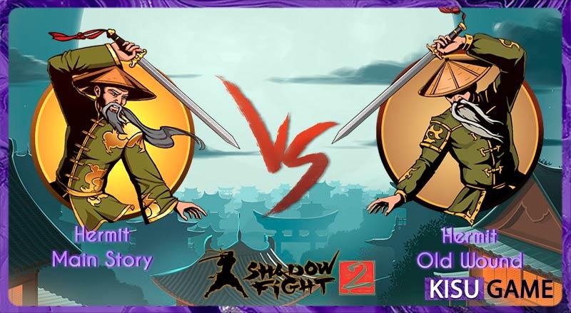 Hermit - Tên boss thứ 2 của cốt truyện game Shadow Fight 2