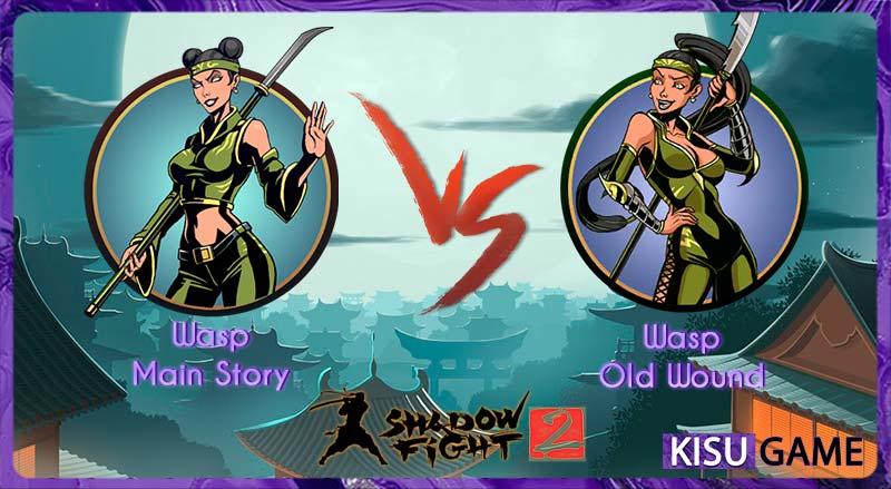 Wasp - Tên boss thứ 4 của cốt truyện game Shadow Fight 2
