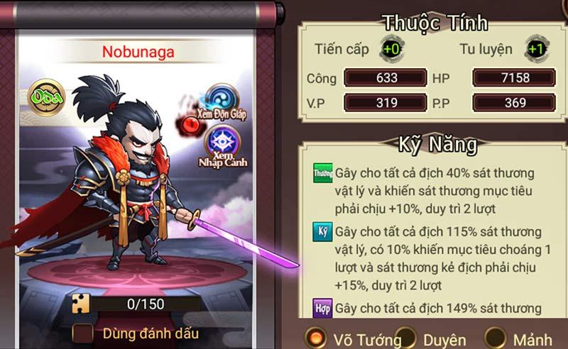 Đại chiến Samurai VNG - Nobunaga Oda