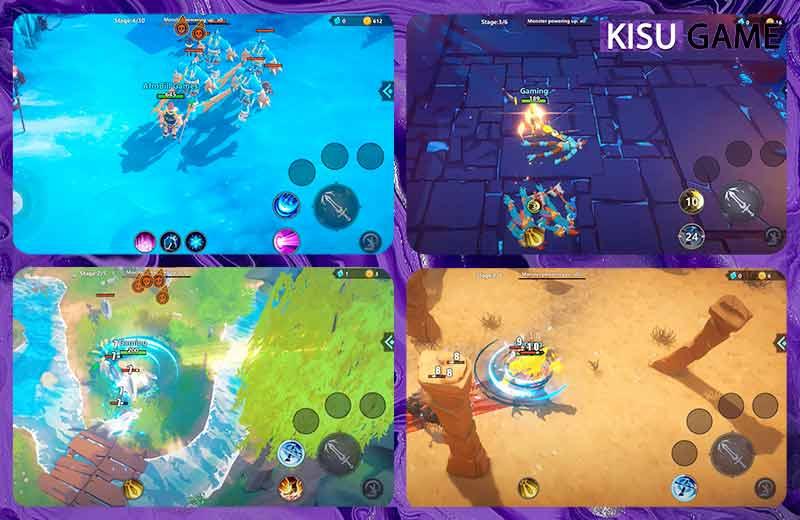 Echoes of Magic với gameplay đồ hoạ siêu đẹp mắt