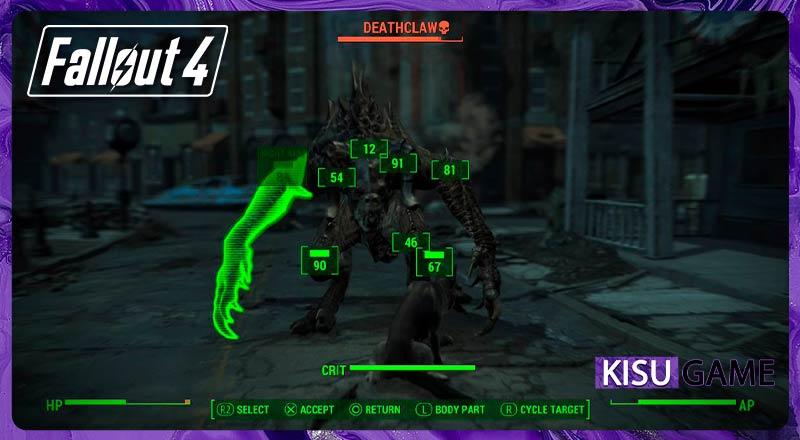 Tính năng V.A.T.S - Fallout 4 Review gameplay