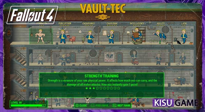 Fallout 4 - Review gameplay tính năng S.P.E.C.I.A.L mới lạ
