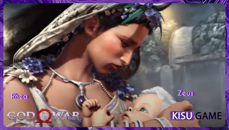 Zeus thế hệ vị thần mới trong tựa game offline hành động God of War