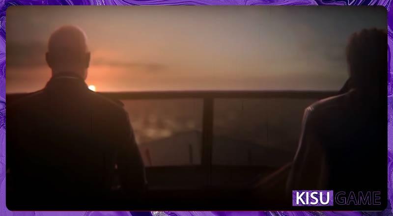 Hitman 2 Ending với khung cảnh Agent 47 và Lucas Grey trên đường tìm những thành viên ngày xưa