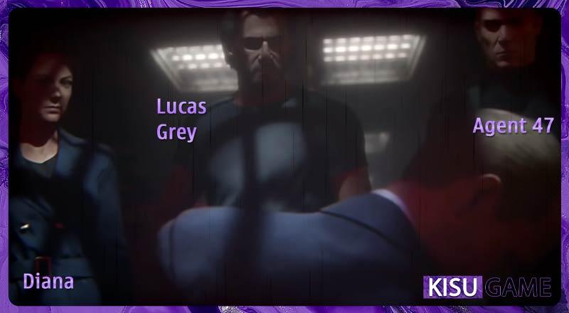 Bộ 3 Diana, Lucas Grey và Agent 47 cùng nhau tìm ra bí mật của tựa game hành động HitMan