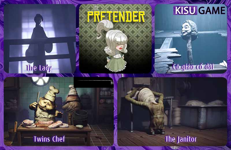 Những nhân vật quyền lực xuất hiện trong cốt truyện game Little Nightmares 2