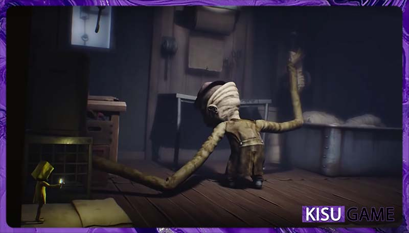 The Janitor đã cuộn xác của những đứa trẻ ở nhà bếp - Phân tích game Little Nightmare