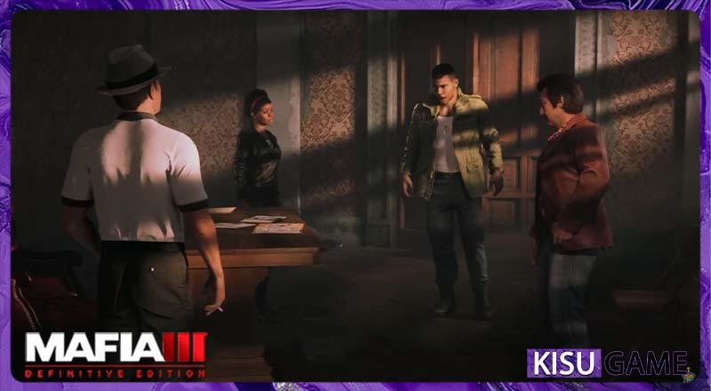 Mafia III: Definitive Edition cốt truyện game Lincoln chiêu mộ được Vito, Thomas và Cassandra làm đồng minh