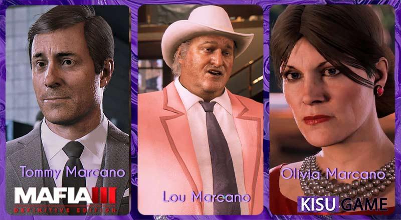 Tommy, Lou, Olivia - Anh em của gia đình Marcano lộ diện trong ending cốt truyện game Mafia 3: Definitive Edition