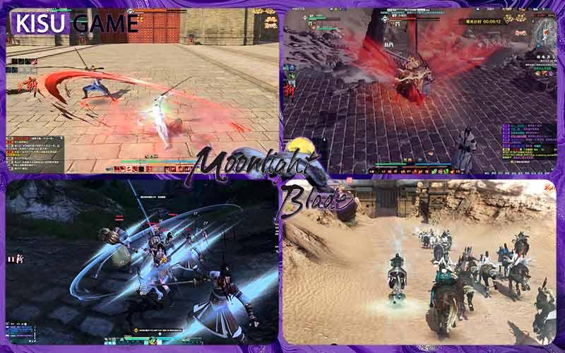 Moonlight Blade - Top game nhập vai kiếm hiệp online 2021