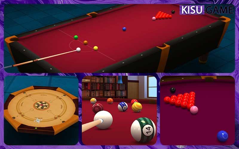 Pool Break Pro 3D có chế độ game bida offline cho Android và game bida offline cho Iphone