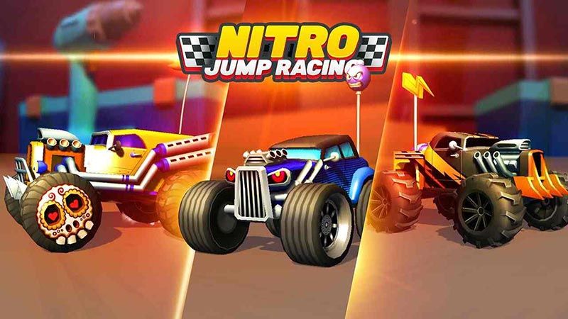 Nitro Jump Racing - Tựa game co op android hay vui nhộn