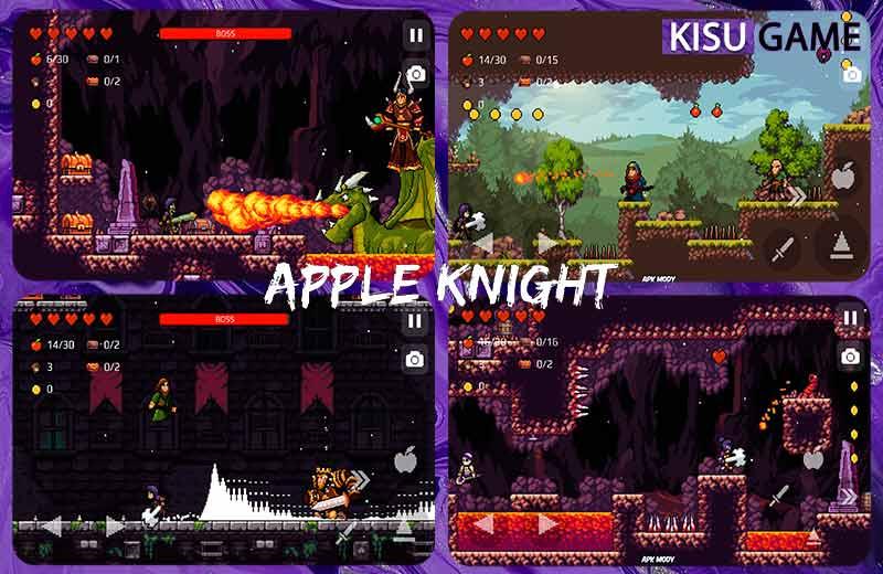 Apple Knight: Action Platformer cái tên không thể thiếu trong top game đồ họa pixel offline hay nhất