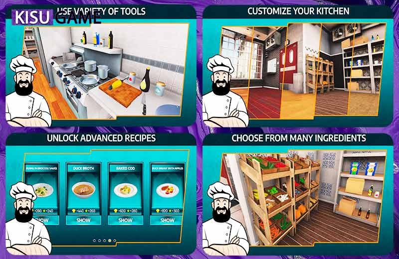 Cooking Simulator Mobile - Top game giả lập mobile offline 2021 nấu ăn xả stress