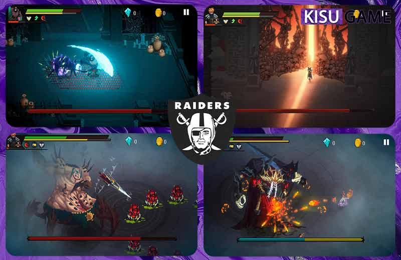 Dark Raider tựa game offline mobile pixel đáng trải nghiệm