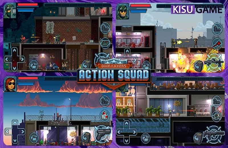 Door Kickers: Action Squad tựa game offline mobile pixel đa nền tảng