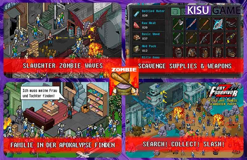 Fury Survivor: Pixel Z tựa game offline mobile pixel ấn tượng
