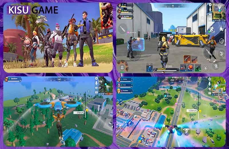 Omega Legends - Top game online mobile battle royale mới nhất 2021