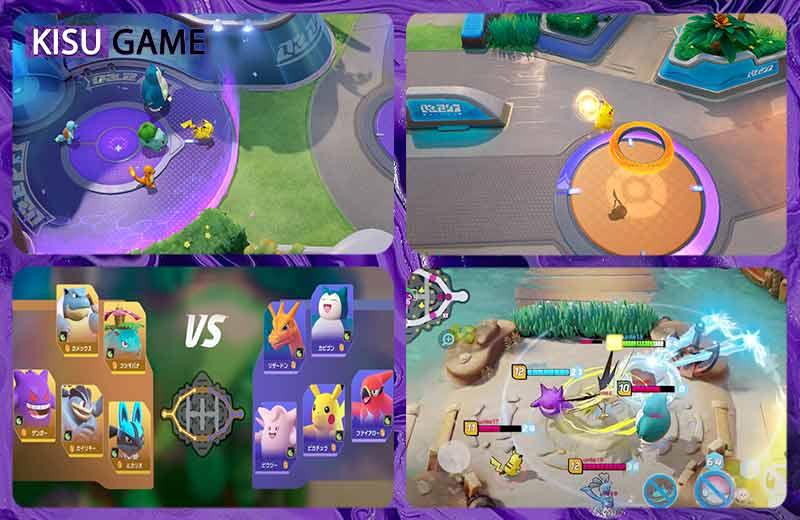 Pokémon Unite Mobile tựa game anime đồ họa đẹp 2021
