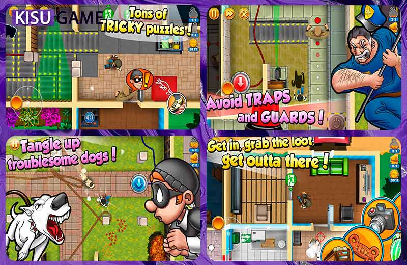 Robbery Bob 2: Double Trouble - Top game giả lập mobile offline 2021 nhiều người chơi