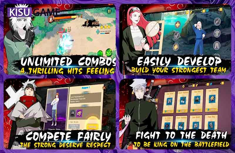 Will of Shinobi - Naruto top tựa game anime chiến đấu mobile hay 2021
