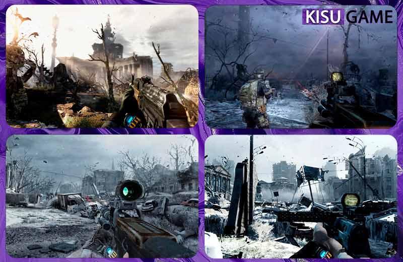 Bối cảnh trong cốt truyện game Metro 2033