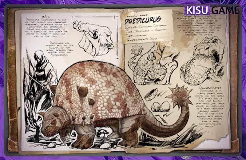 Top 5 khủng long game mobile sinh tồn Ark Survival Evolved