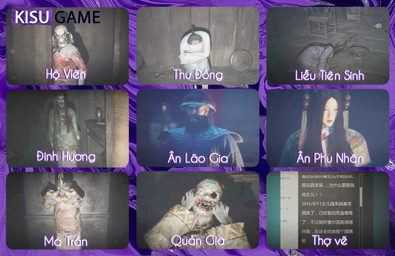 Paper Dolls 1 - Cốt truyện game tựa game kinh dị giải đố Trung Quốc cuối nhà Thanh ly kỳ
