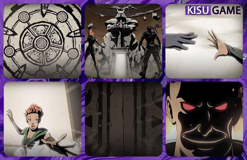 Cánh Cổng Bóng Tối được mở ra và May bị hút vào - Shadow Fight 2 ending