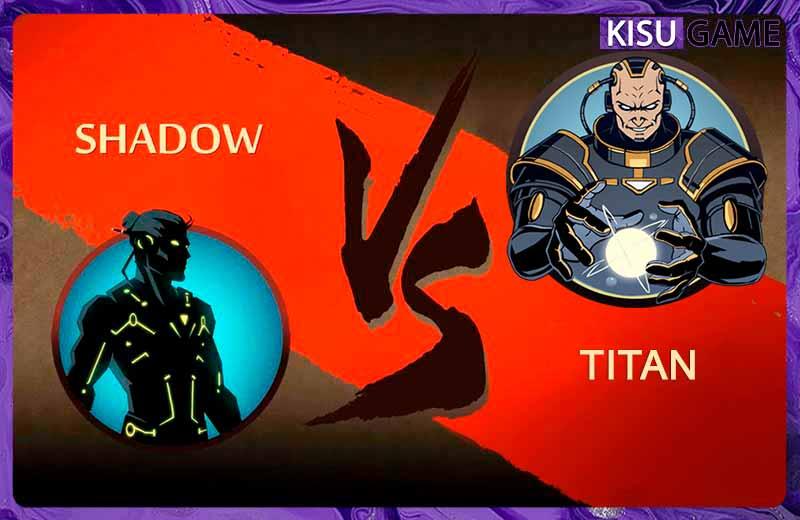 Titan trùm cuối cùng trong cốt truyện game ending của Shadow Fight 2