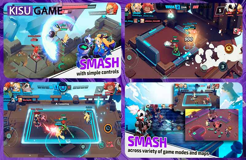 Smash Legends tựa game không thể thiếu trong top game multiplayer android mobile 2021