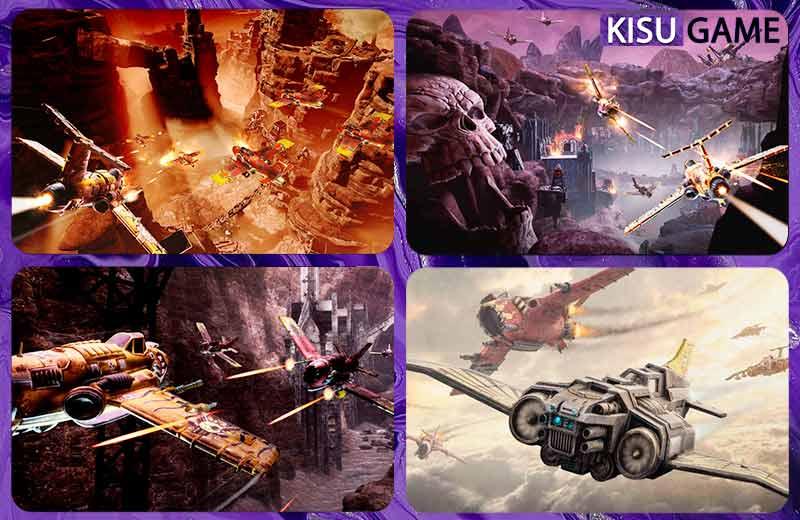 Warhammer 40,000: Dakka Squadron game máy bay chiến đấu offline hay