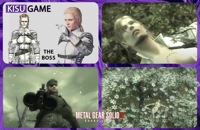 Cốt truyện game Metal Gear Solid - The Boss