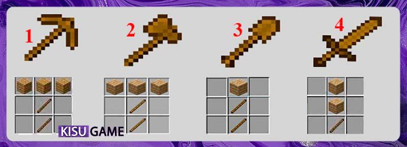 Những công cụ cần dùng khi tham gia Minecraft xây dựng