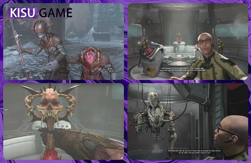 Ranak tên thầy tu thứ 2 bị bay đầu bởi Doom Slayer - Doom Eternal Ending