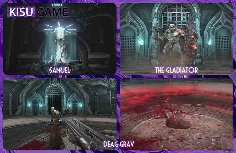 Doom Slayer lạnh lùng giết tên thầy tu cuối cùng Deag Grav - Doom Eternal Ending
