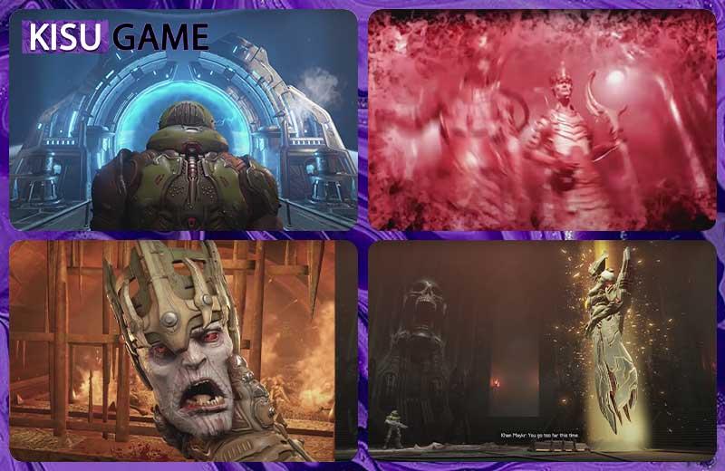 Doom Slayer chém bay đầu Deag Nilox - Doom Eternal Ending