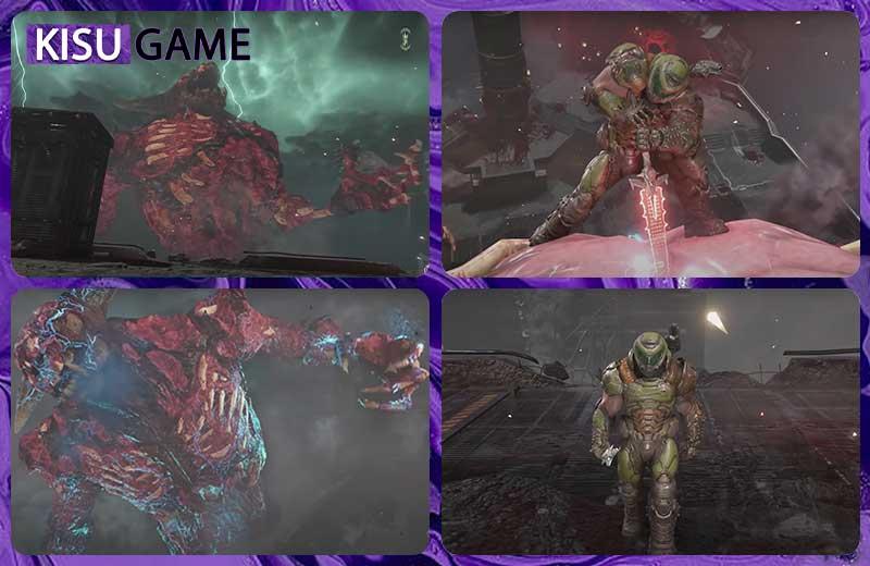 Doom Eternal Ending - Doom Slayer tiêu diệt Icon of Sin trả lại sự hoà bình cho vũ trụ
