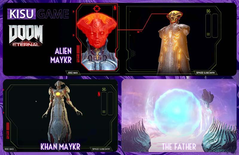 Doom Eternal - Cốt truyện game vũ trụ người Maykr và Argenta