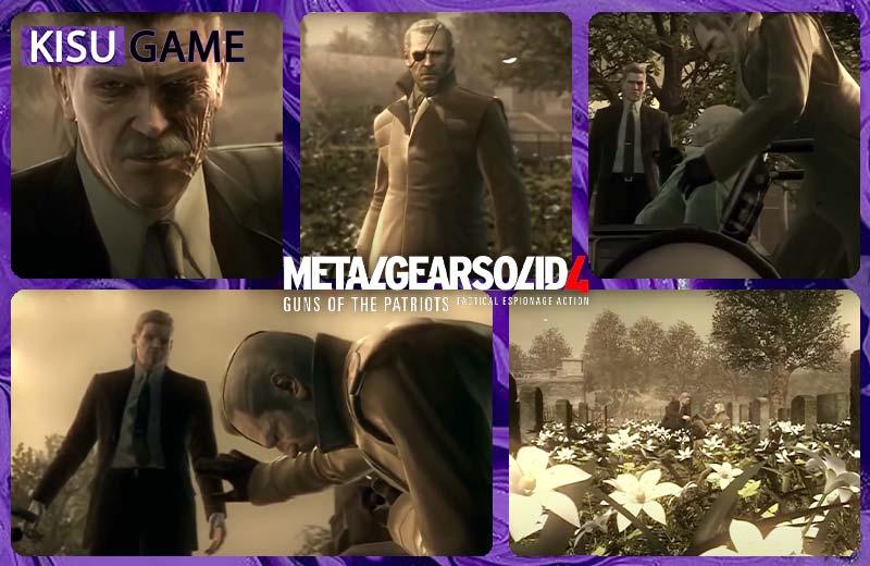 Metal Gear Solid Ending - Solid gặp lại Big Boss
