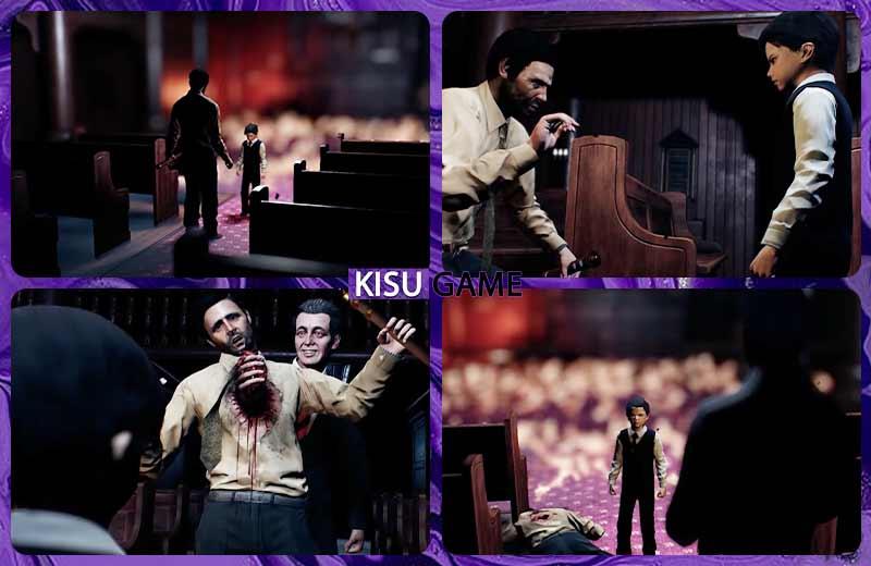 Lucifer xuất hiện và giết chết thám tử McGuffin - Cốt truyện game Lucius 3