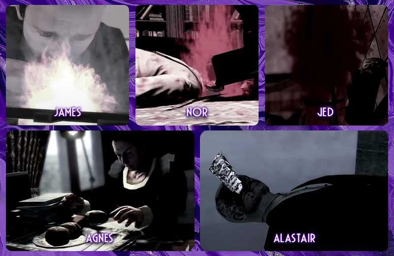 Những cái chết khác trong trang viên Dante trong cốt truyện game Lucius 1