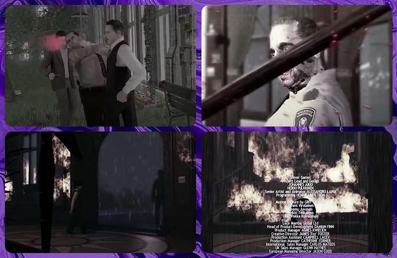 Lucius Ending - Lucius quay đi bỏ lại sự hoang tàn của trang viên Dante