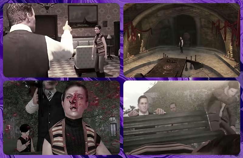 Lucius điều khiển Charles bắn Nancy trong Lucius Ending