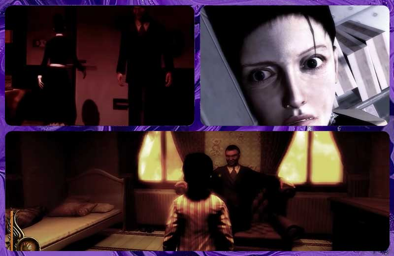 Cái chết đầu tiên trong cốt truyện game Lucius phần 1 là của bà quản gia Mary