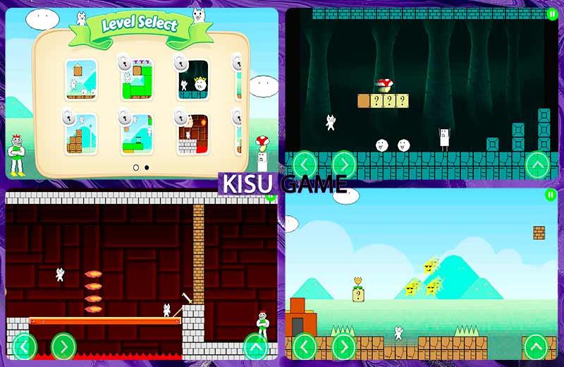 Super Cat World tựa game gây ức chế cho Android và Iphone hấp dẫn