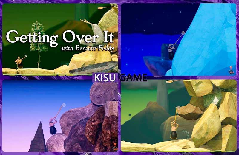 Getting Over It một trong những game gây ức chế trên Android, IOS và Windows thú vị