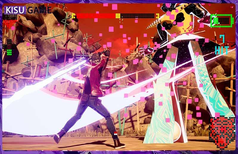 No More Heroes 3 gameplay siêu đẹp và sống động