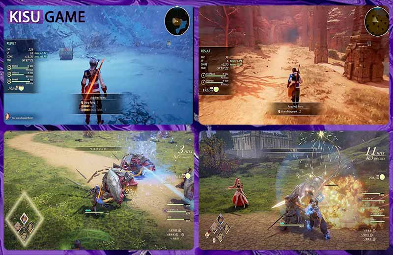 Tales Of Arise gameplay đẹp mắt
